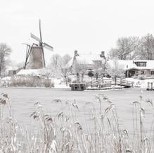 Windmill, Schoondijke, Zeeuws-Vlaanderen, Netherlands