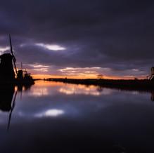 Under Threatening Clouds, Kinderdijk, Zuid-Holland, The Netherlands