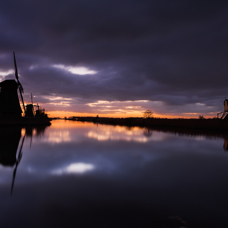 Under Threatening Clouds, Kinderdijk, Zuid-Holland, The Netherlands