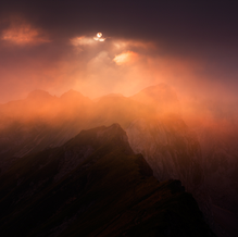 Rofan Nebula, Rofan Mountains, Tirol, Austria, 2016