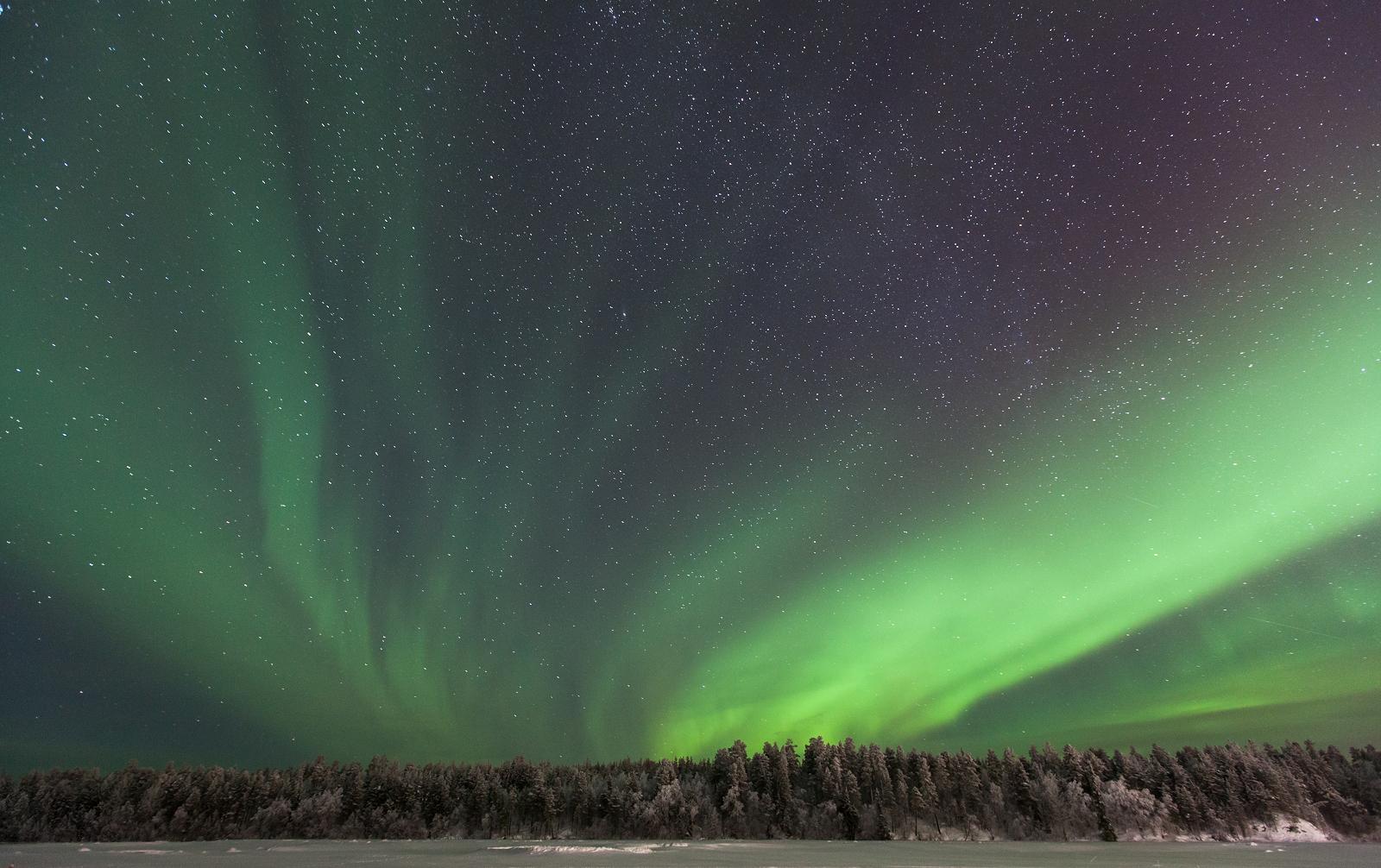 Northern Lights Muonio Finland