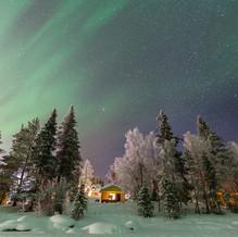 Northern Lights, Harriniva, Muonio, Finland