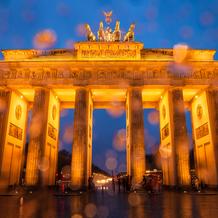 Rain, Brandenburger Tor, Berlin, Germany, 2014