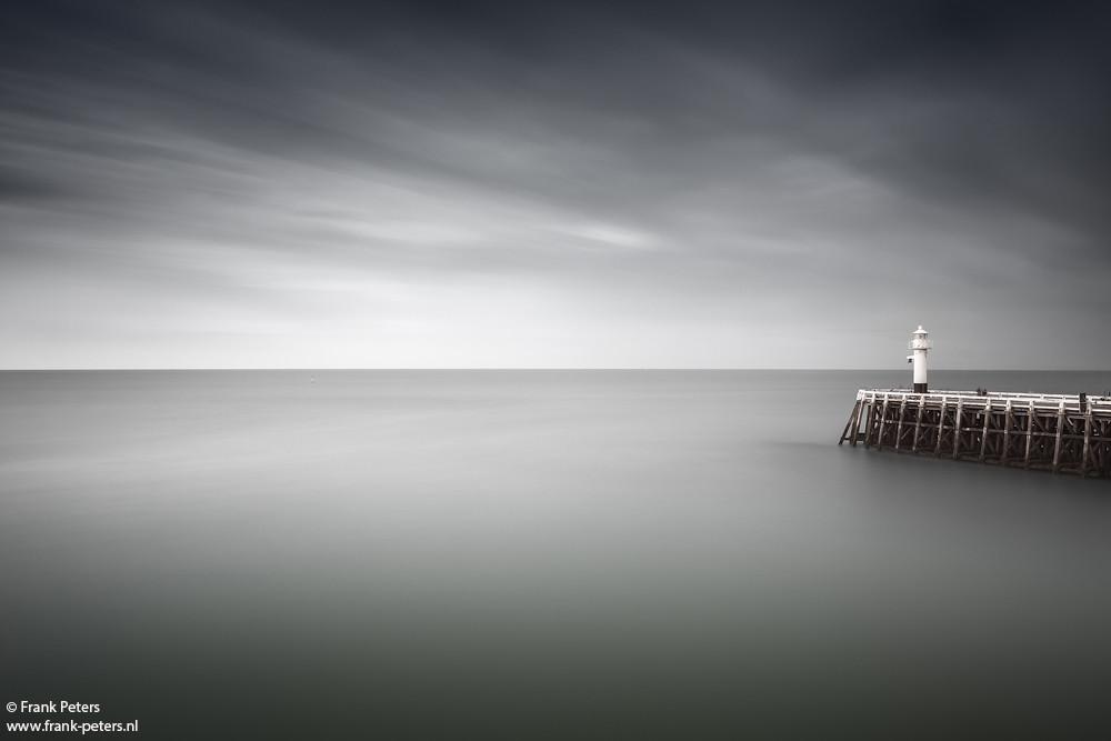 Pier, Blankenberge, Flanders, Belgium