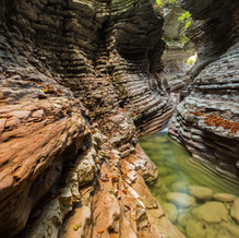 Speed, Canyon Brent de l'Art, Dolomites, Italy