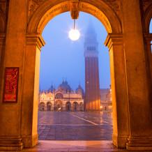 San Marco Dawn, San Marcoplein, Venetië, Italië