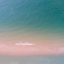 Calm Sea, Zeeuws-Vlaanderen, Drone Photography, Netherlands