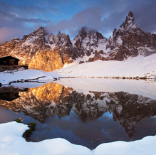 After the Mist, Pale di San Martino, Dolomites, Italy