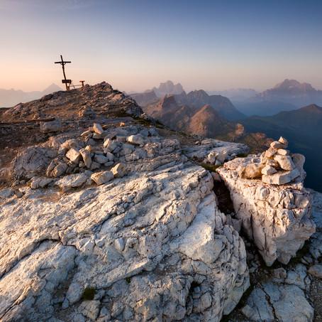 Crucifix, Lagazuoi, Dolomites, Italy