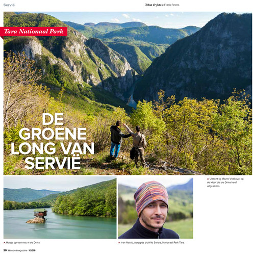 Article about Serbia published in Wandel Magazine