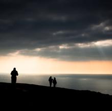On Top, Golden Cap, Jurassic Coast, England