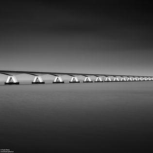 Zeelandbrug, minimalistische fotografie,