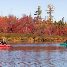 Kayaking, Round Lake, Adirondacks, USA
