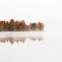 Colors, Lake Harris, Adirondacks, USA