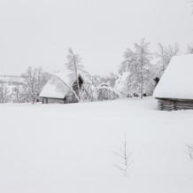 Winter Landscape, Lapland, Finland