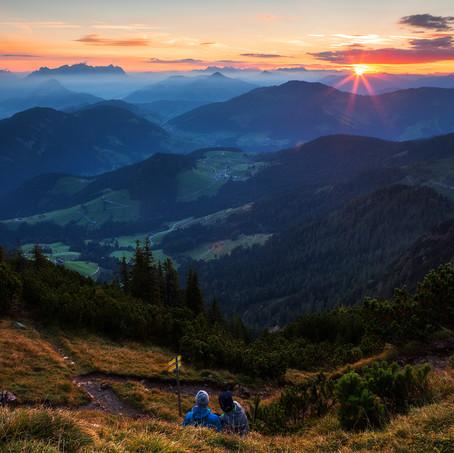 Sunrise, Gratlspitze, Tyrol, Austria