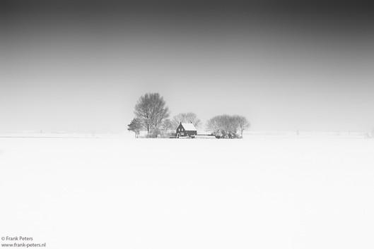 House in Snow, Zeeuws-Vlaanderen