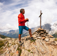 Mountain Guide Andreas Messner, Hintereböden, Antholz Valley, Italy