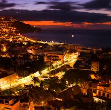 Sunrise over Funchal, Madeira, Portugal, 2016