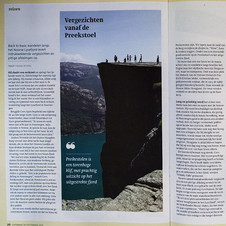Lysefjord, Trouw Magazine