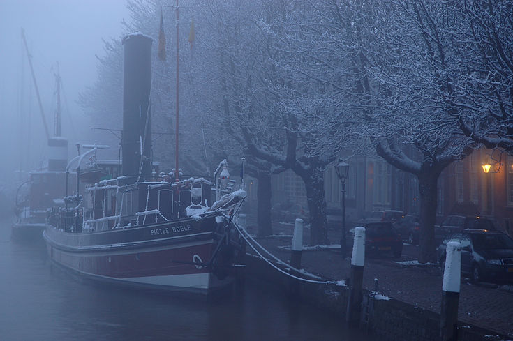 Wolwevershaven, Dordrecht, Pieter's droo
