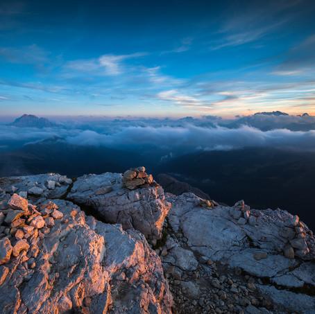 Last Light, Lagazuoi, Dolomites, Italy