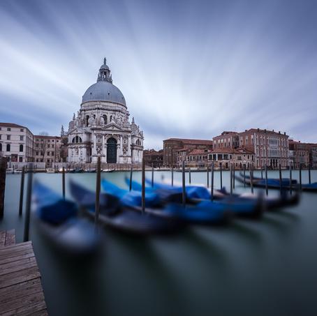 Time Fades, Basilica di Santa Maria della Salute, Venice, Italy