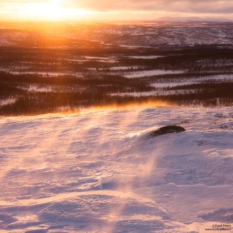Sunset, Ailigas, Karigasniemi, Finland