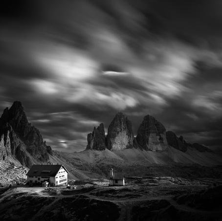 Tre Cime di Lavaredo, Dolomites, Italy, 2015