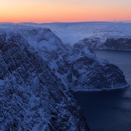 Cliffs, North Cape, Finnmark, Norway