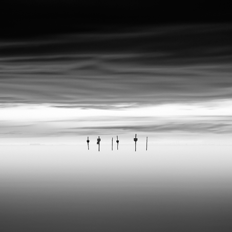 Floating Poles, Oesterdam, Zeeland, Netherlands, 2018