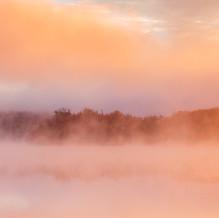 Foggy Morning, Lake Harris, Adirondacks, USA