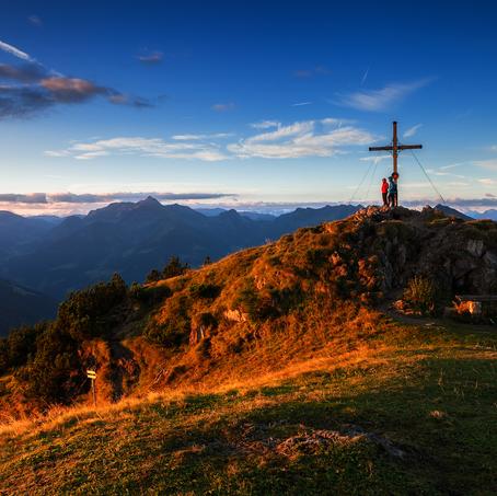 Top Cross, Gratlspitze, Tyrol, Austria
