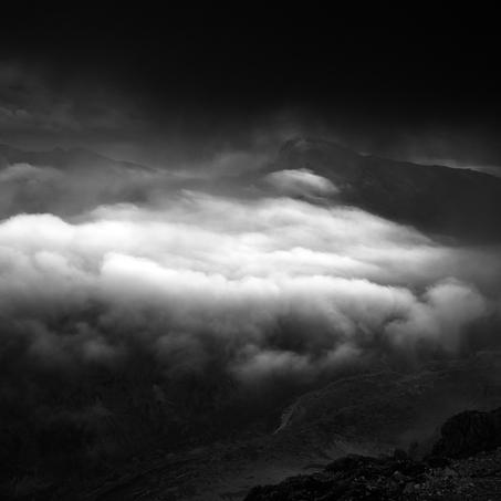 Falzaregos Clouds, Lagazuoi, Dolomites, Italy, 2012
