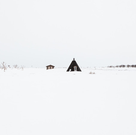 Skyline, Nuorgam Tundra, Lapland, Finland