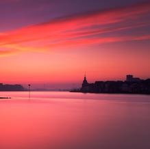 Sunrise over Dordrecht, Zuid-Holland, The Netherlands, 2016