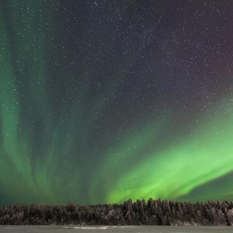 Aurora Borealis, Harriniva, Muonio, Finland