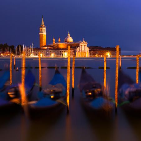 Dusk, San Giorgio Maggiore, Venice, Italy