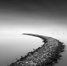 Curve, Ijsselmeer, Netherlands, 2020