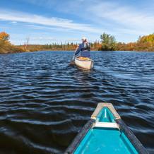 Autumn River, Raquette River, Adirondacks, USA