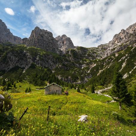 The Pure Mountain Life, Cimonega, National Park Bellunese Dolomites, Belluno, Italy