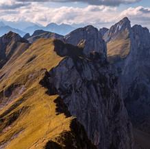 Rofan Towers, Rofan Mountains, Tyrol, Austria