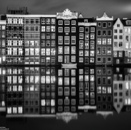 Skyline, Damrak, Amsterdam, The Netherlands, 2017