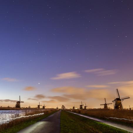 In the Light, Kinderdijk, Zuid-Holland, The Netherlands