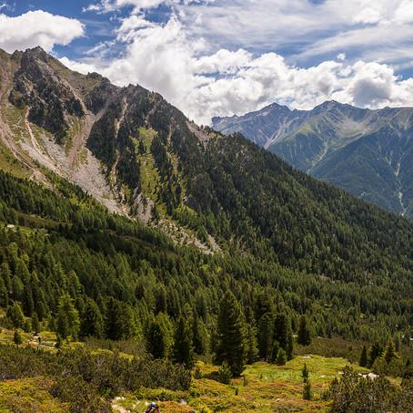 Alpinists, Ampergarten, Antholzer Valley, Italy