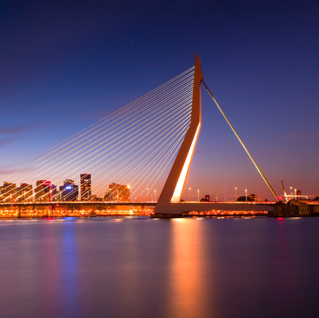 Erasmusbrug, Rotterdam, Zuid-Holland, The Netherlands, 2011