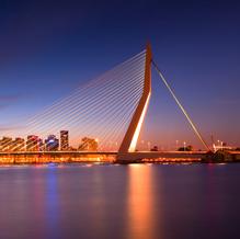 Erasmusbrug, Rotterdam, Zuid-Holland, The Netherlands, 2011