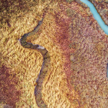The Wet and the Dry, Zeeland from above, Drone Photography, Netherlands