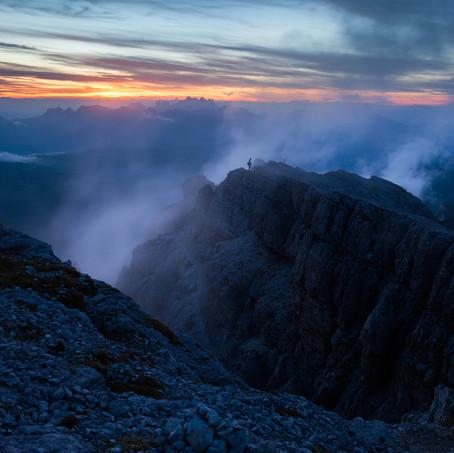 Mistmen, Lagazuoi, Dolomites, Italy