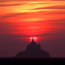 Last Light, Mont St. Michel, Normandy, France, 2007